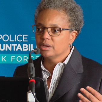 Lori Lightfoot Task Force de responsabilidad policial